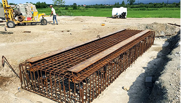 اجرای ساختمان نیروگاه و بهسازی خاک به روش میکروپایل باربر جهت کنترل نشست و روانگرایی نیروگاه برق صالح هفتم تنکابن فاز دوم