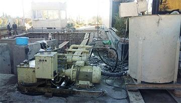 بهسازی خاک دستی اطراف سپتیک کارخانه داروسازی مداوا به روش میکروپایل در هشتگرد البرز تهران
