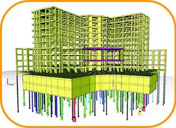 طراحی و نظارت بر پروژه های میکروپایل ، شمع کوبی، شمع درجا و نیلینگ توسط شرکت شیلاو خاورمیانه