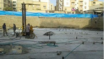 بهسازی خاک زیر یک مجتمع مسکونی هفت طبقه به روش میکروپایل باربر جهت کنترل نشست در شهر تهران